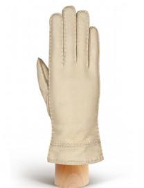 Перчатки женские 100% шерсть HS630W beige (Eleganzza)