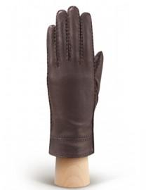 Перчатки женские 100% шерсть HS630W d.brown (Eleganzza)