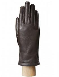 Перчатки женские 100% шерсть HS909L brown (Eleganzza)