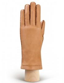 Перчатки женские 100% шерсть HS909L camel (Eleganzza)
