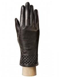 Перчатки женские 100% шерсть IS0261 black (Eleganzza)