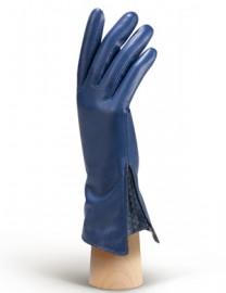 Перчатки женские 100% шерсть IS120 d.blue (Eleganzza)