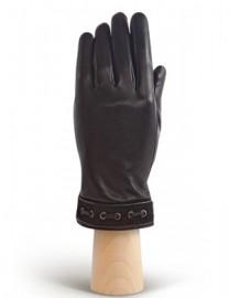 Перчатки женские 100% шерсть IS128 black (Eleganzza)