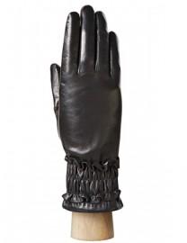 Перчатки женские 100% шерсть IS152 black (Eleganzza)
