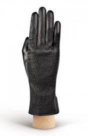 Перчатки женские 100% шерсть IS168 black (Eleganzza)