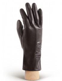 Перчатки женские 100% шерсть IS220 d.brown (Eleganzza)