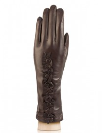 Перчатки женские 100% шерсть IS229 brown (Eleganzza)