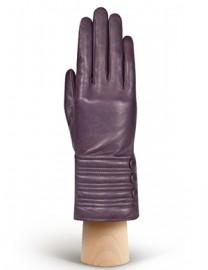 Перчатки женские 100% шерсть IS253 d.violet (Eleganzza)