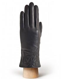 Перчатки женские 100% шерсть IS255 black (Eleganzza)