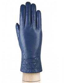 Перчатки женские 100% шерсть IS255 d.blue (Eleganzza)