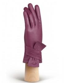 Перчатки женские 100% шерсть IS257 cranberry (Eleganzza)