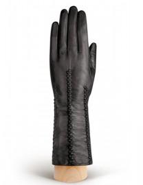 Перчатки женские 100% шерсть IS259 black (Eleganzza)