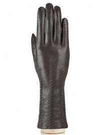 Перчатки женские 100% шерсть IS259 l.brown (Eleganzza)
