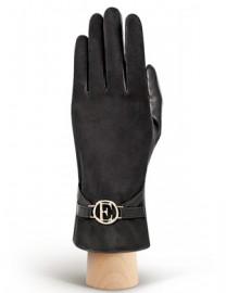 Перчатки женские 100% шерсть IS268 black (Eleganzza)