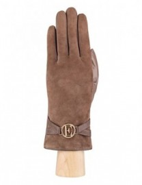 Перчатки женские 100% шерсть IS268 l.taupe (Eleganzza)