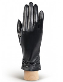 Перчатки женские 100% шерсть IS308 black (Eleganzza)