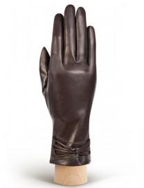 Перчатки женские 100% шерсть IS308 brown (Eleganzza)