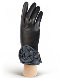 Перчатки женские 100% шерсть IS309 black (Eleganzza)
