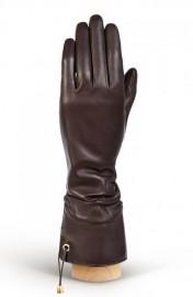 Перчатки женские 100% шерсть IS310 brown (Eleganzza)