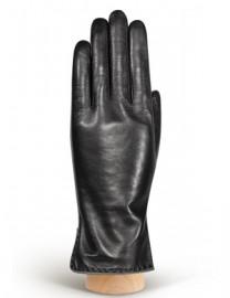 Перчатки женские 100% шерсть IS313L black/grey (Eleganzza)
