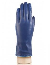 Перчатки женские 100% шерсть IS313L d.blue/l.blue (Eleganzza)