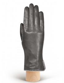 Перчатки женские 100% шерсть IS313L d.grey/l.grey (Eleganzza)