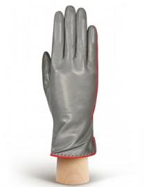 Перчатки женские 100% шерсть IS313L grey/orange (Eleganzza)