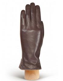 Перчатки женские 100% шерсть IS313L l.brown/l.taupe (Eleganzza)