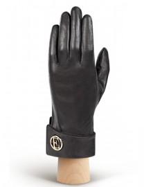 Перчатки женские 100% шерсть IS338 black (Eleganzza)