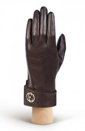 Перчатки женские 100% шерсть IS338 brown (Eleganzza)