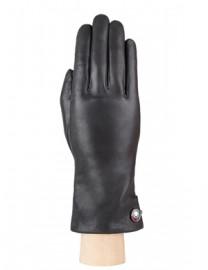 Перчатки женские 100% шерсть IS428 d.grey (Eleganzza)
