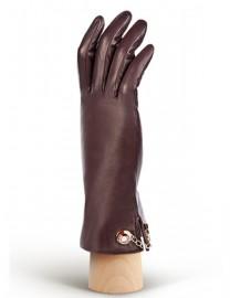 Перчатки женские 100% шерсть IS428 plum (Eleganzza)