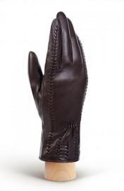 Перчатки женские 100% шерсть IS442 brown (Eleganzza)
