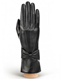 Перчатки женские 100% шерсть IS456 black (Eleganzza)