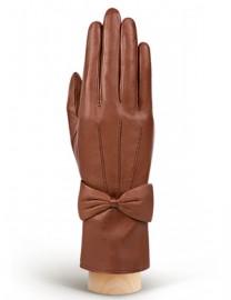 Перчатки женские 100% шерсть IS456 cognac (Eleganzza)