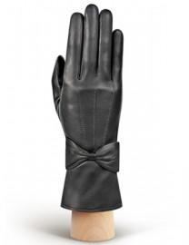Перчатки женские 100% шерсть IS456 d.grey (Eleganzza)