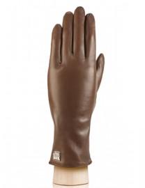 Перчатки женские 100% шерсть IS50-R d.brown (Eleganzza)