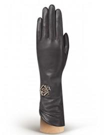Перчатки женские 100% шерсть IS506 black (Eleganzza)