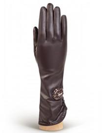 Перчатки женские 100% шерсть IS506 brown (Eleganzza)