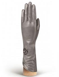 Перчатки женские 100% шерсть IS506 d.grey (Eleganzza)