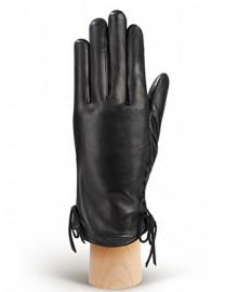 Перчатки женские 100% шерсть IS509 black (Eleganzza)