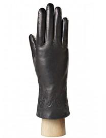 Перчатки женские 100% шерсть IS523 black (Eleganzza)