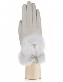 Перчатки женские 100% шерсть IS617 beige (Eleganzza)