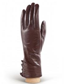 Перчатки женские 100% шерсть IS6311 mahogany (Eleganzza)