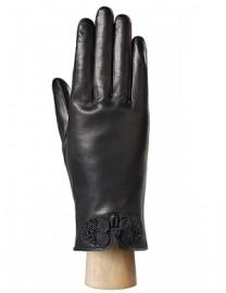 Перчатки женские 100% шерсть IS6619 black (Eleganzza)