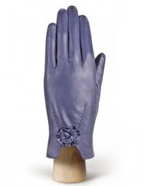 Перчатки женские 100% шерсть IS6758 d.violet (Eleganzza)