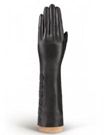 Перчатки женские 100% шерсть IS686 black (Eleganzza)