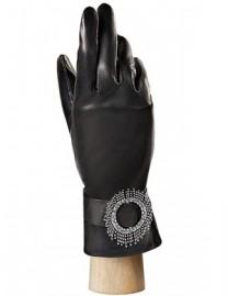 Перчатки женские 100% шерсть IS7042-D black (Eleganzza)