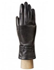 Перчатки женские 100% шерсть IS762 black (Eleganzza)