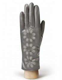 Перчатки женские 100% шерсть IS7663 d.grey (Eleganzza)